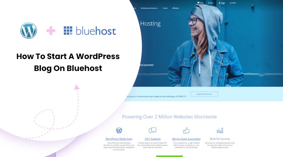 How To Start A Wordpress Blog On Bluehost Blossomthemes Com