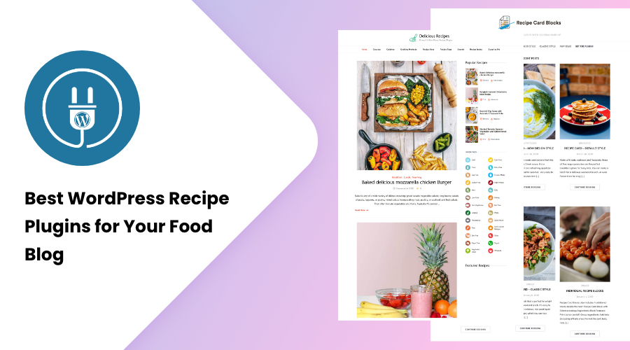 Best WordPress Recipe Plugins for Your Food Blog