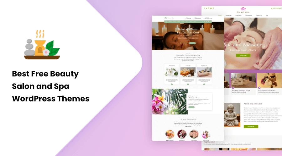 Best Free Beauty Salon and Spa WordPress Themes