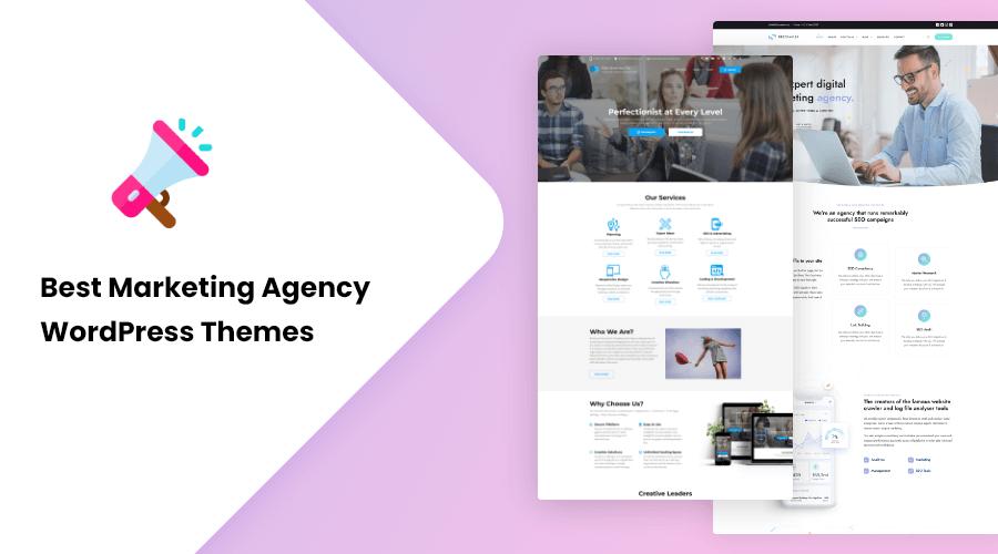 Best Marketing Agency WordPress Themes