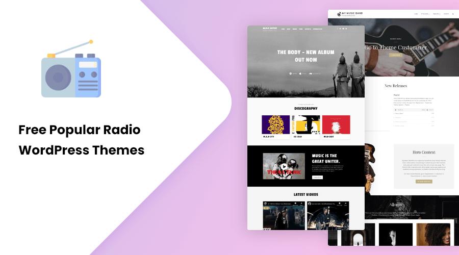 Free Popular Radio WordPress Themes
