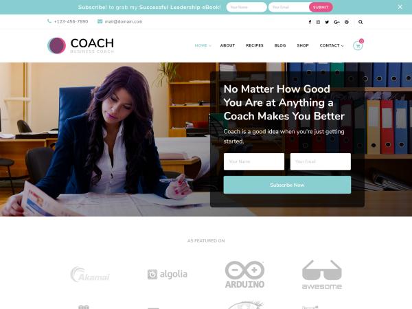 Blossom Coach Free WordPress Theme
