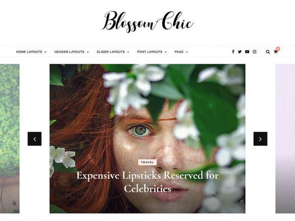 Blossom Chic Free WordPress theme