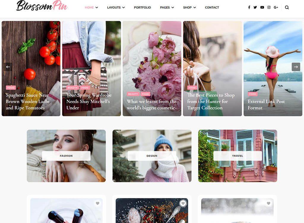 Blossom Pin Pro WordPress Theme