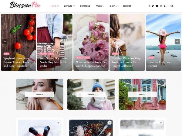 Blossom Pin WordPress Theme