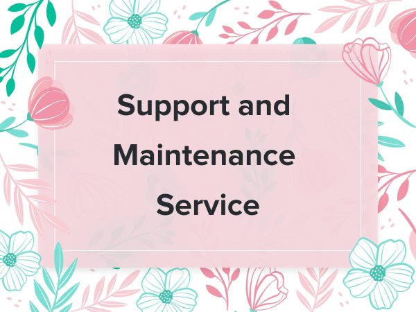 Blossom Support and Maintenance Service